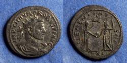 Ancient Coins - Roman Empire, Probus 276-282, Silvered Bronze Antoninianus