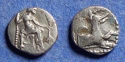 Ancient Coins - Lycaonia, Laranda? Circa 320 BC, Silver Obol