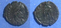 Ancient Coins - Roman Empire, Helena d. 326 AD, AE4
