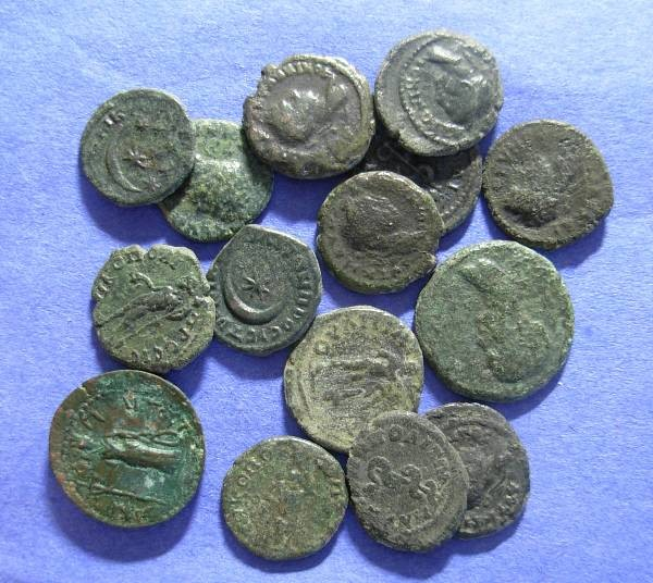 Ancient Coins - 15 Roman Provicial coins