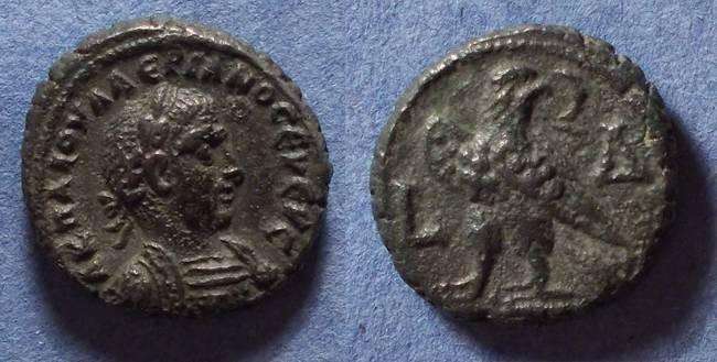 Ancient Coins - Roman Egypt, Valerian 253-260, Tetradrachm