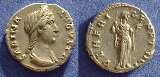 Ancient Coins - Sabina (wife of Hadrian) d.137AD
