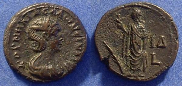 Ancient Coins - Salonina (wife of Gallienus) 253-268AD Billon Tetradrachm
