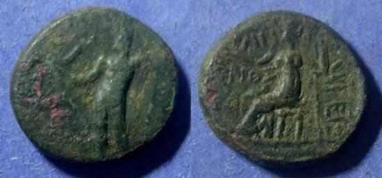 Ancient Coins - Achean League, Argos 191-146 BC, Tetrachal