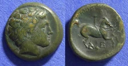 Ancient Coins - Macedonian Kingdom Philip II 359-336 BC AE19