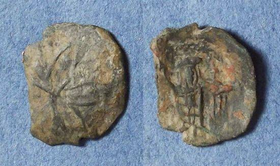Ancient Coins - Byzantine Empire, Andronicus II & Michael IX 1294-1320, Stamenon