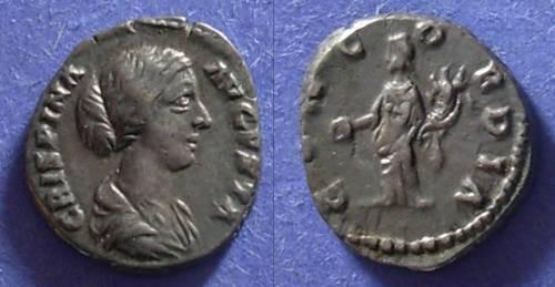 Ancient Coins - Roman Empire, Crispina d 183 AD, Denarius