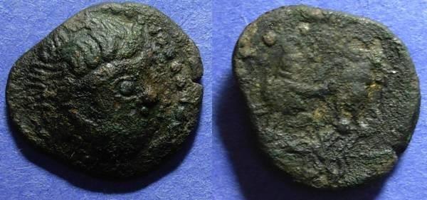 Ancient Coins - Danube Region, Kapostal Circa 150 BC, Tetradrachm