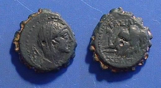 Ancient Coins - Seleucid Kingdom - Seleukos IV 187-175 BC AE-15