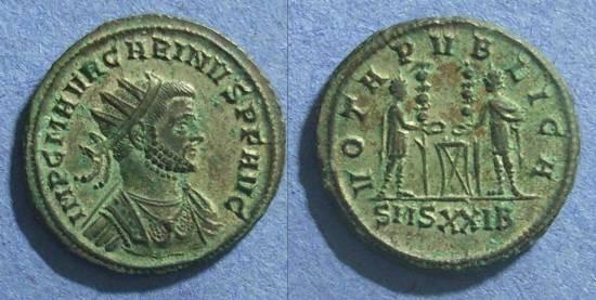 Ancient Coins - Roman Empire, Carinus 283-5, Antoninianus