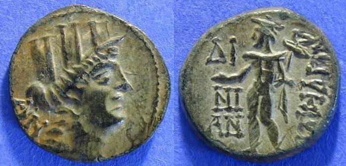 Ancient Coins - Korykos Cilicia - AE21 -1st century BC ----- Choice!