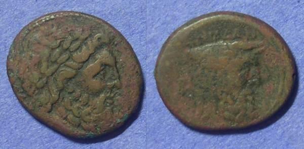 Ancient Coins - Akarnania – The Oiniadai AE20 Circa 219-211BC