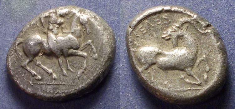 Ancient Coins - Cilicia, Kelendris 410-375 BC, Stater