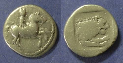 Ancient Coins - Macedonian Kingdom, Perdikkas II 451-413 BC, Tetrobol