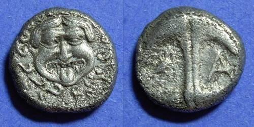 Ancient Coins - Apollonia Pontika - Drachm - Circa 400BC