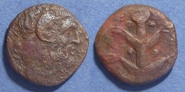 Ancient Coins - Kyrene, Kyrenaica Circa 320 BC, AE22