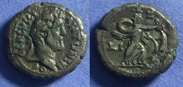 Ancient Coins - Roman Egypt – Antoninus Pius 138-161 – Tetradrachm