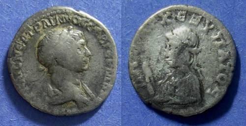 Ancient Coins - Caesarea Cappadocia, Trajan 98-117, Drachm