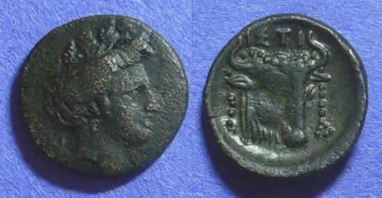 Ancient Coins - Histiaea Euboea – AE17 Circa 338-250BC