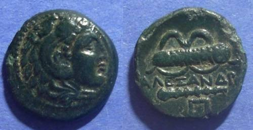 Ancient Coins - Macedonian Kingdom, Alexander III 336-323 BC, AE18