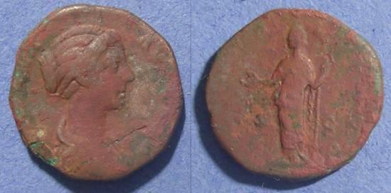 Ancient Coins - Roman Empire, Crispina d.182 AD, As
