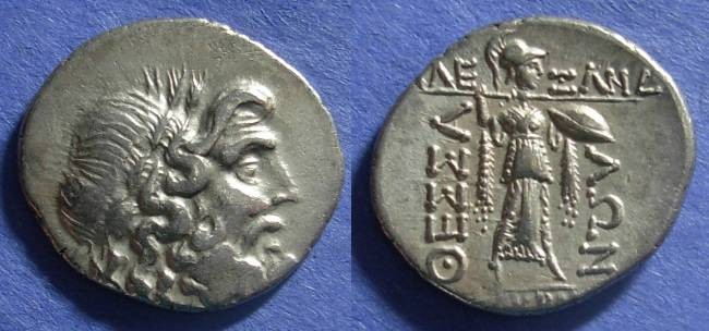 Ancient Coins - Thessalian League,  44-40 BC, Stater ( Double Victoriatus )