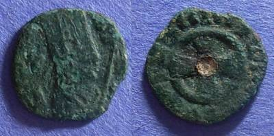 Ancient Coins - Axum, Anonymous 400-500, AE13