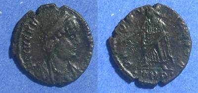 Ancient Coins - Roman Empire, Helena d. 326 AD, AE4