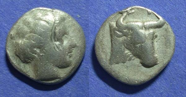 Ancient Coins - Euboian League, Euboia 304-290 BC, Drachm