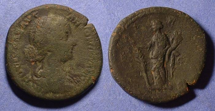 Ancient Coins - Lucilla (wife of L Verus) 161-9 Sestertius