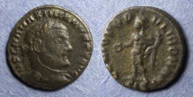 Ancient Coins - Roman Empire, Maximianus 286-305, 1/4 Follis