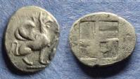 Ancient Coins - Ionia, Teos 450-425 BC, Trihemiobol