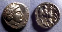 Ancient Coins - Kings of Paeonia, Patraos 335-315 BC, Tetradrachm