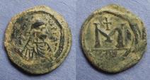 Ancient Coins - Byzantine Empire, Anastasius 491-518, Follis (small module)