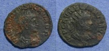 Ancient Coins - Roman Empire, Aurelian & Vabalathus 270-2 AD, Antoninianus