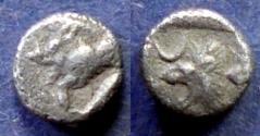 Ancient Coins - Mysia, Kyzikos Circa 450 BC, Obol - rare type