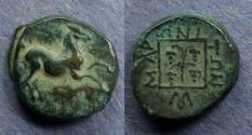 Ancient Coins - Thrace, Maroneia 398-347, AE15