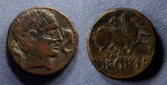 Ancient Coins - Spain, Sekaisa 100-50 BC, AE21