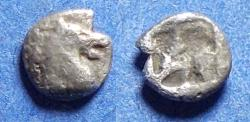 Ancient Coins - Aeolis, Kyme 480-450 BC, Silver Hemiobol
