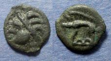 Ancient Coins - Celtic, Northwest Gaul, Leuci 100-50 BC, 19mm