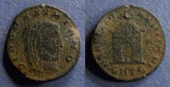 Ancient Coins - Roman Empire, Divo Maximianus d. 310, Half follis