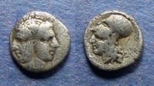 Ancient Coins - Mysia, Lampsakos Circa 350 BC, Tritemorian (Rare)
