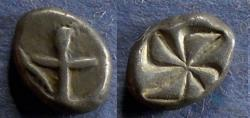 Ancient Coins - Thrace, Apollonia Pontika Circa 450 BC, Drachm