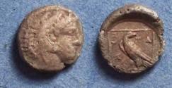 Ancient Coins - Macedonian Kingdom, Amyntas III 393-369 BC, Diobol