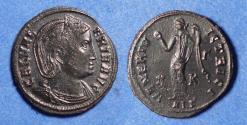Ancient Coins - Roman Empire, Galeria Valeria 308-311, Bronze Follis