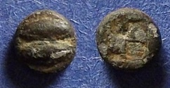 Ancient Coins - Lesbos, Uncertain 550-480 BC, Hemiobol