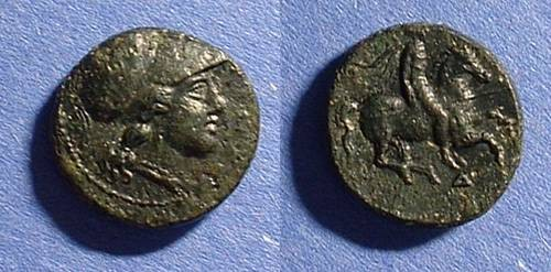 Ancient Coins - Syracuse Sicily AE-17 Agathocles 317-289BC
