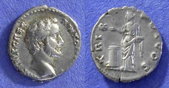 Ancient Coins - Roman Empire - Antoninus Pius (as Caesar) January to July 138 - Denarius