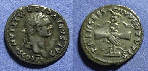 Ancient Coins - Roman Empire, Domitian  (as Caesar) 69-81, Denarius