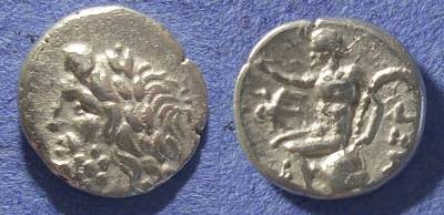 Ancient Coins - Megalopolis,  80-50 BC, Hemidrachm